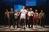 Nathan Carroll as Terry Fox and Company in Marathon of Hope The
