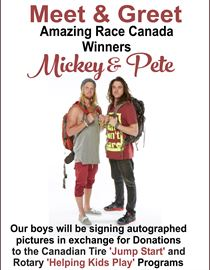 Meet and greet Mickey & Pete