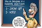 Today's Cartoon: Voting 101