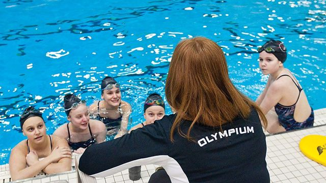 Athletes politicians gather for official kick off of - Pan am pool public swimming hours ...