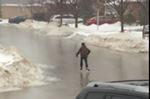 Road skating in Gtown