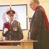 Sworn in