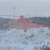 Injured logger transported