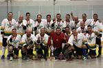 Men's E provincial ball hockey champs