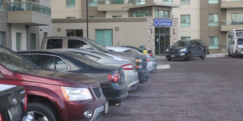 Parking provisions insufficient for Collegeview condos