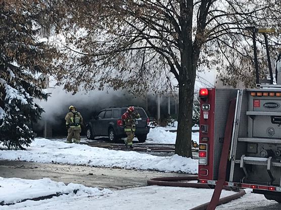 Oshawa firefighters tackle Down Crescent house fire