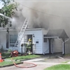 Fire on Monk Street in Cobourg