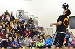 Freestyle soccer demo freezes out bullying at Collingwood high school