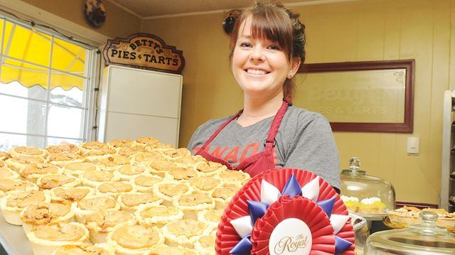 Betty's Pies and Tarts - best butter tart