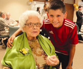 St. Patrick's Home residents celebrate 'century of memories'; Relative– Image 1
