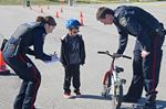 Innisfil YMCA bike rodeo pairs police with kids for bike safety