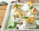 Peaches and cream Pavlovas named for famed ballerina– Image 1