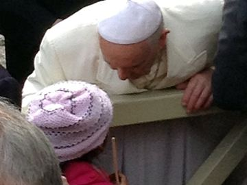 Dad freed after California girl goes to Vatican begging Pope Francis for help