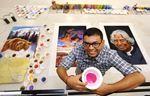 Rangoli art-Prakash Shirke