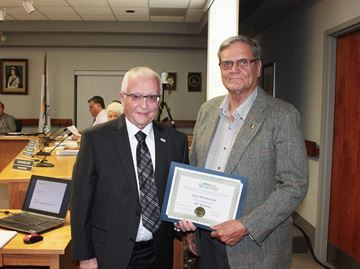 New Tecumseth recognizes citizen of the year's 80th birthday
