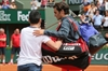 Federer 'not happy' about on-court fan's French Open selfie-Image1