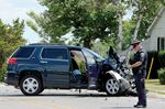 Clark Townline collision