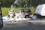 SUV fire in Colborne