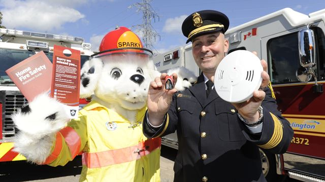 Burlington hosting province-wide kickoff to Fire Prevention Week