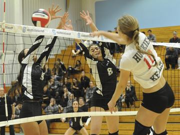 Hayden completes unlikely rise to Halton volleyball title