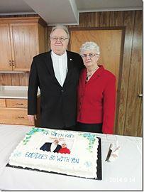 Ebenezer United Church bids minister happy retirement