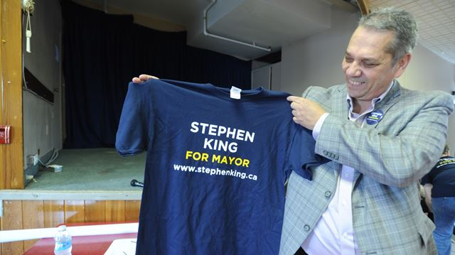 Mayoral hopeful