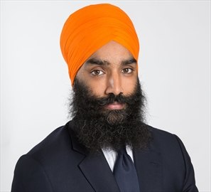 Gurratan Singh is the Ontario New Democratic Party candidate in Brampton East.
