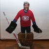 GLT's Jacques Plante and the Parkdale Knitting Club.