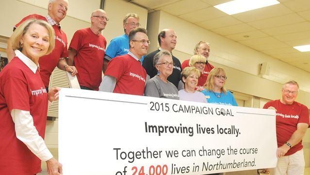 Northumberland United Way campaign goal