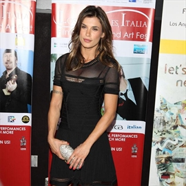 Elisabetta Canalis congratulates ex-George Clooney on baby news-Image1