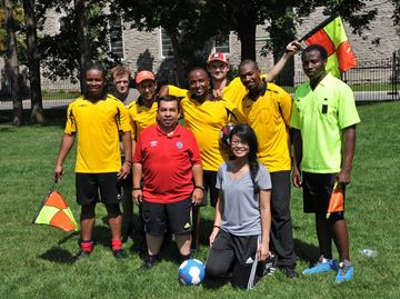 Canada Sports Officials helps homeless generate income