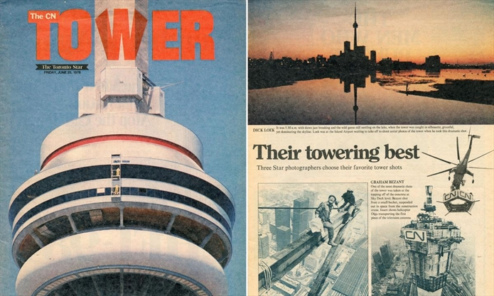 43 years young: The CN Tower is celebrating its birthday, so here's a look back at its opening