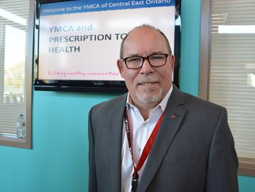 David Allan, President and CEO for the YMCA of Central East Ontario