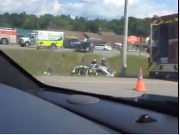 ACCIDENT HWY 11 AT SOUTH MARY LAKE ROAD
