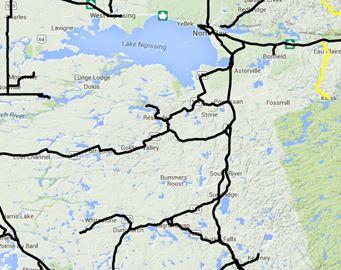 North Bay / Almaguin road conditions Nov. 30 6:25 a.m.