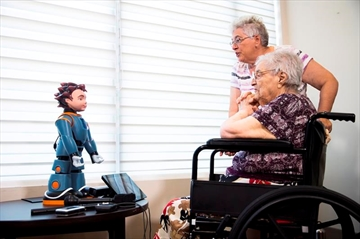 Canadian-made robot, Ludwig, designed to assess dementia-Image1