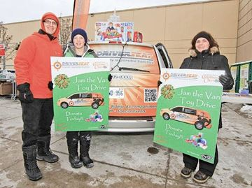 Barrie charity drives still need your help