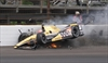 IndyCar's Hinchcliffe thanks 'heroes' after scary crash-Image1