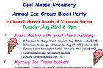 Ice cream block party being held in Alliston