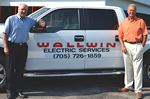 Wallwin Electric supports RVH in Barrie