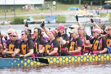 Inaugural Dragon Boat races draws a crowd
