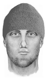 Sketch of Peterborough robbery suspect