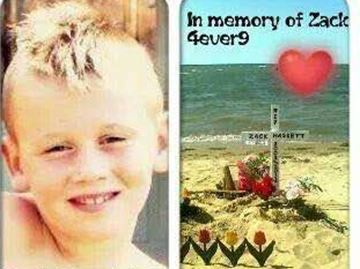 Drowned Wasaga Beach boy's memorial cross taken from sand