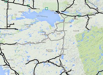 North Bay / Almaguin road conditions Nov. 27 6:30 a.m.