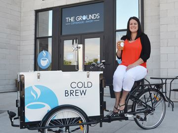 'Pedalling' a refreshing drink throughout the city