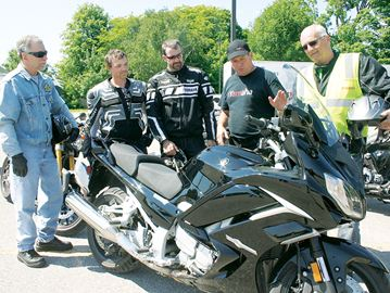 Motorcycle enthusiasts descend on Midland for bike week Mark Harrison photo