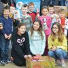 Monsignor Castex Catholic School students support food drive in Midland