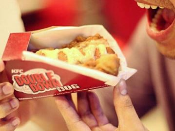 Double Down Dog: Would you eat KFC's hybrid sandwich?