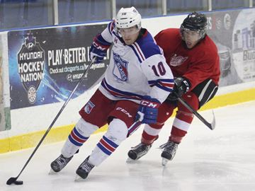 Local resident pacing Oakville Blades in OJHL pre-season play