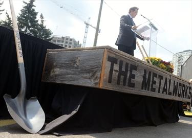 Mayor on Metalworks
